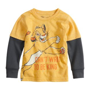 Disney's The Lion King Toddler Boy Simba Mock Layer Graphic Tee by Jumping Beans®