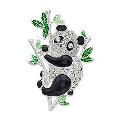 Napier Simulated Crystal Panda Pin