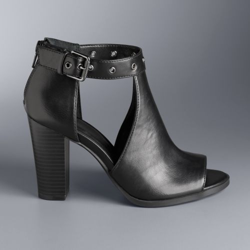 Simply Vera Vera Wang Staring ... Women's High Heel Ankle Boots