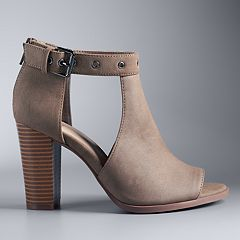 Simply Vera Vera Wang Staring Women's High Heel Ankle Boots