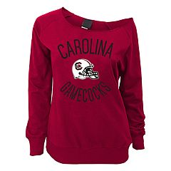 Juniors' South Carolina Gamecocks Flashdance Slouch Crewneck