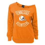 Juniors' Tennessee Volunteers Flashdance Slouch Crewneck