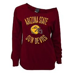Juniors' Arizona State Sun Devils Flashdance Slouch Crewneck