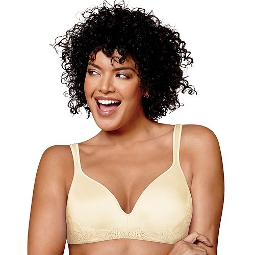 3d074350bf018 Women s Full Figure Playtex Beautiful Wire-Free Bra US0002