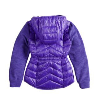 Girls 7-16 Rosemont 1958 Nadine Quilted Lightweight Jacket