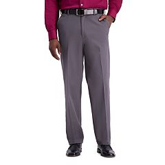 Men's Haggar® Work to Weekend® PRO Stretch Relaxed-Fit Flat-Front Casual Pants