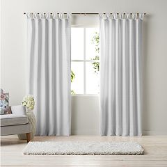 LC Lauren Conrad Manchester Fan Tab Window Curtain