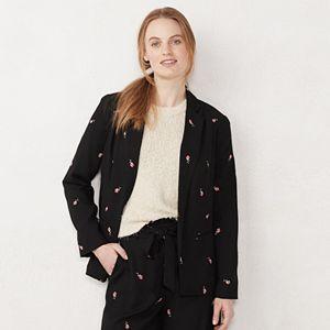 efb5fb155b Women s LC Lauren Conrad Cozy Open-Front Knit Blazer. (21). Regular