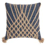 Mina Victory Life Styles Knotted Burst Throw Pillow