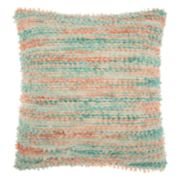 Mina Victory Life Styles Space Dyed Woven Throw Pillow