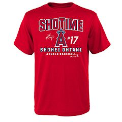 Boys 8-20 Majestic Los Angeles Angels of Anaheim Shohei Ohtani Takedown Tee