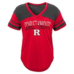 Juniors' Rutgers Scarlet Knights Traditional Tee