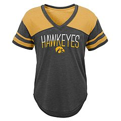 Juniors' Iowa Hawkeyes Traditional Tee
