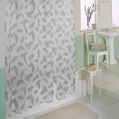 Excell  Modern Leaf Shower Curtain