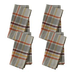 Food Network™ Seasonal Plaid Napkin 4-pack