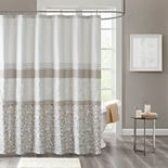 510 Design Lynda Embroidered Shower Curtain & Liner