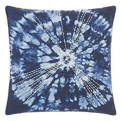 Mina Victory Life Styles Tie Dye Burst Throw Pillow