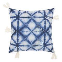 Mina Victory Life Styles Tie Dye Triangles Throw Pillow