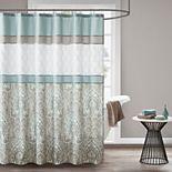 510 Design Josefina Embroidered Shower Curtain & Liner