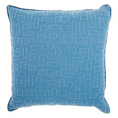Mina Victory Life Styles Distressed Rectangle Throw Pillow
