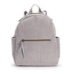 T-Shirt & Jeans Corduroy Dome Backpack
