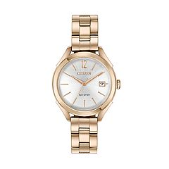 Drive from Citizen Eco-Drive Women's LTR Stainless Steel Watch - FE6143-56A