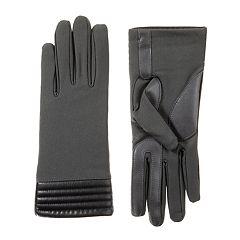 Women's isotoner SmartDRI Quilted Cuff Spandex Gloves
