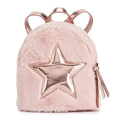 T-Shirt & Jeans Faux-Fur Star Dome Backpack