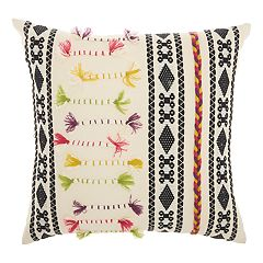 Mina Victory Life Styles Textured Patterns Throw Pillow