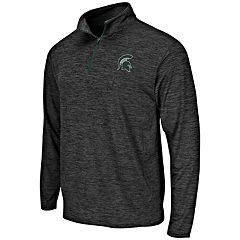 Men's Michigan State Spartans Action Pass Pullover