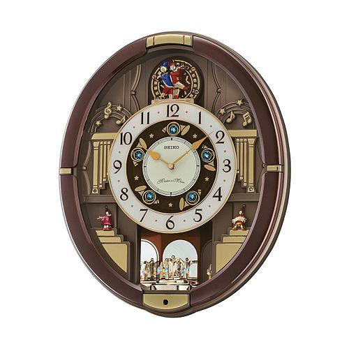 Seiko Melodies In Motion Rotating Pendulum Wall Clock