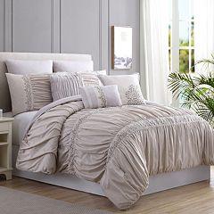 PCT Rialto Lace Embellished 8-pc. Comforter Set