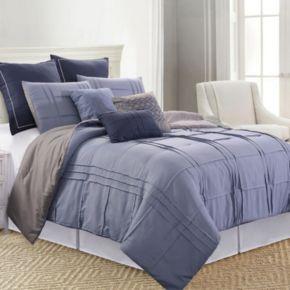PCT Boxwood Pleated 8-pc. Comforter Set