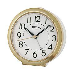 Seiko Bedside Alarm Clock - QHE146GLH