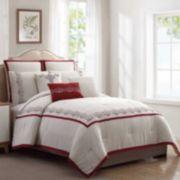 PCT Lori Wine 8-pc. Comforter Set