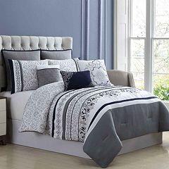 PCT Hayworth Embroidered 8-pc. Comforter Set