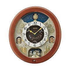 Seiko Melodies In Motion Wall Clock - QXM376BRH