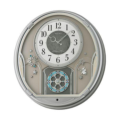 Seiko Melodies In Motion Wall Clock Qxm375srh