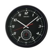 Seiko Thermometer Wall Clock - QXA696KLH