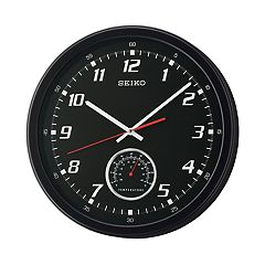 Seiko Thermometer Wall Clock - QXA696KLH