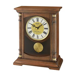 Seiko Contemporary Clics Pendulum Mantel Clock Qxq030blh