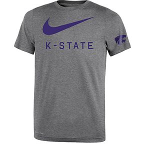 Boys 8-20 Nike Kansas State Wildcats Legend DNA Tee