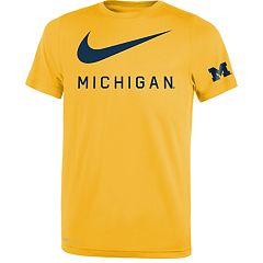 Boys 8-20 Nike Michigan Wolverines Legend DNA Tee