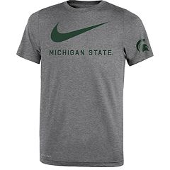 Boys 8-20 Nike Michigan State Spartans Legend DNA Tee