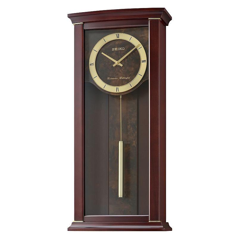 Seiko Contemporary Classics Wall Clock - QXH067BLH. Brown