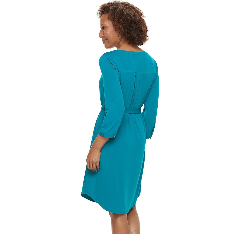 Womens Shirt Dresses Career Dresses Clothing Kohls