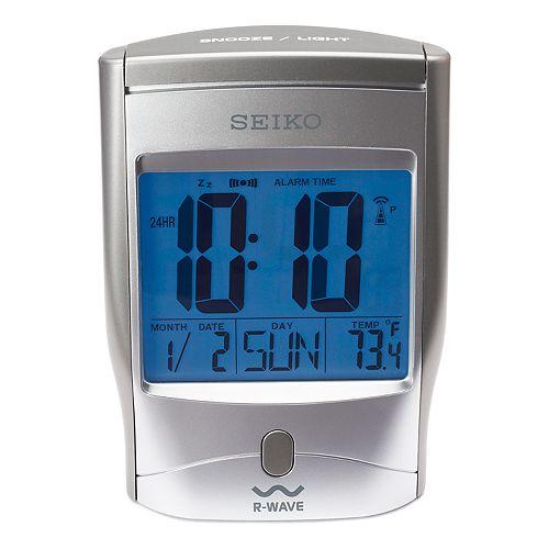 Seiko Get Up Glow R Wave Radio Controlled Digital