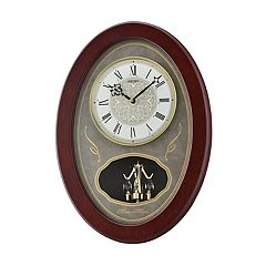 Seiko Melodies In Motion Wall Clock - QXM373BLH