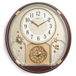 Seiko Melodies In Motion Wall Clock - QXM470BRH