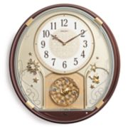 Seiko Melodies In Motion Wall Clock - QXM470BRH